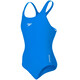 speedo Girls Essential Endurance+ Medalist Swimsuit Neon Blue